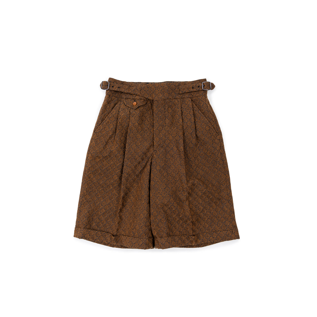 Embroidered Lace Gurka Shorts
