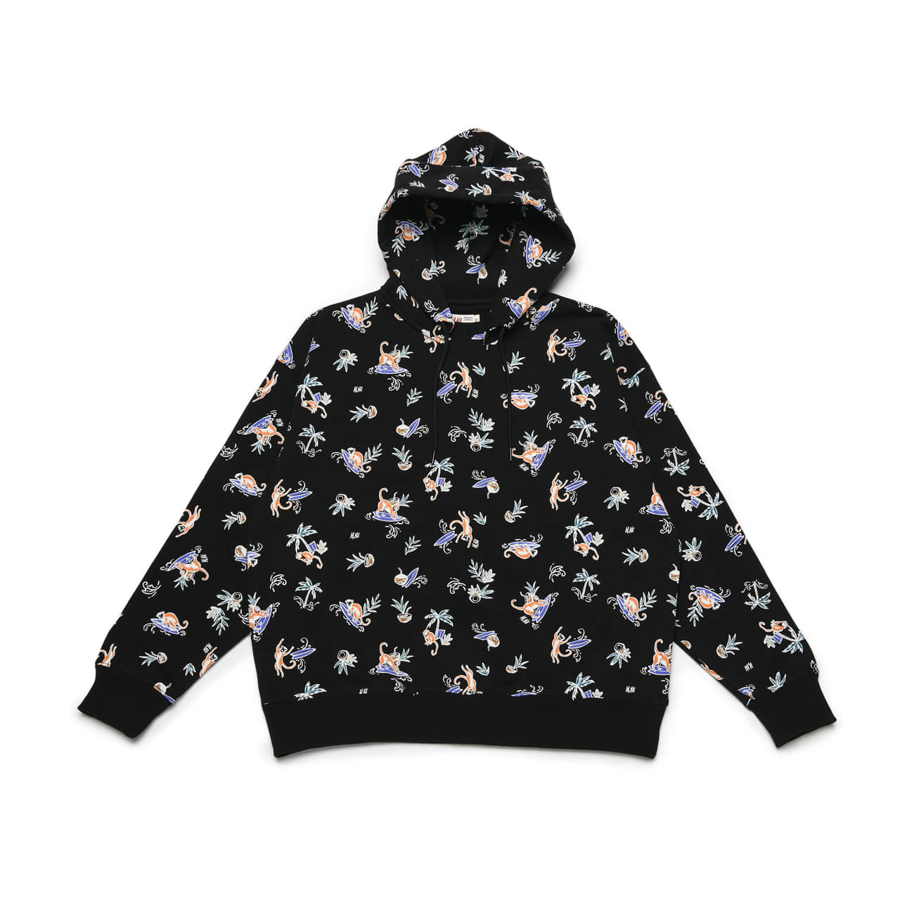 Monkey Surf Sweat Hood