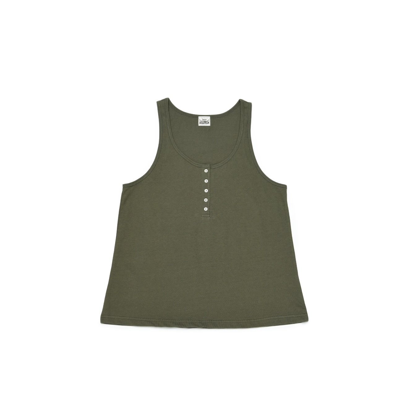Henly Neck Sleeveless T-Shirt