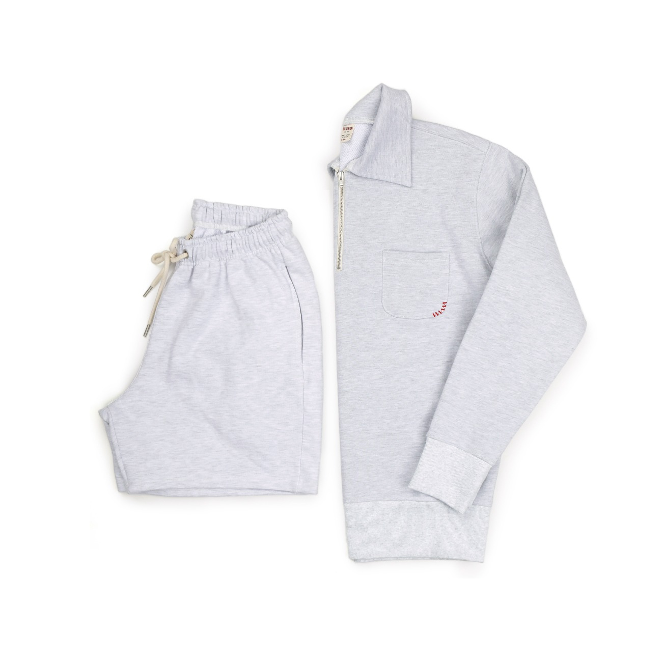 (SET 할인적용 10%) 89 1/2 Zip Up Sweat + Shorts