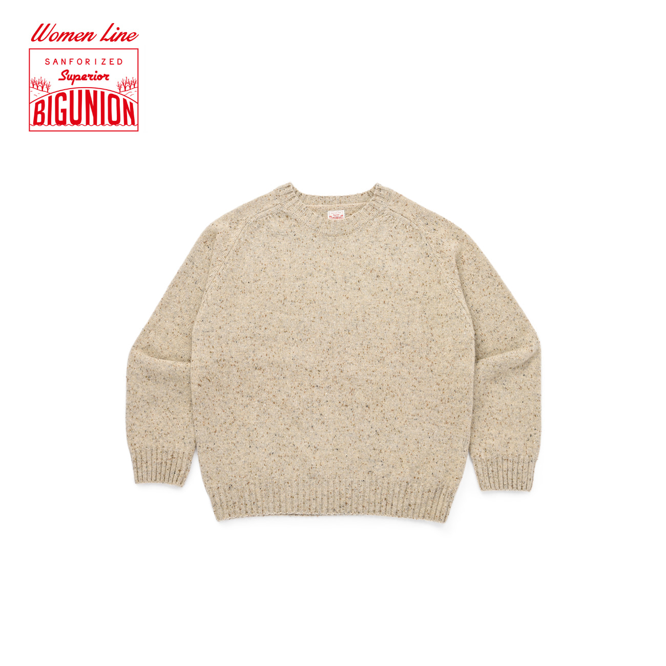 Warm Tone Wool Saddle Knit For Women